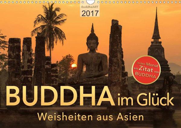 neu kalender 2017 spr che von buddha asienkalender. Black Bedroom Furniture Sets. Home Design Ideas